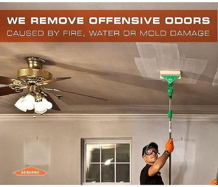Fire Damage Destroy Odors with Deodorization